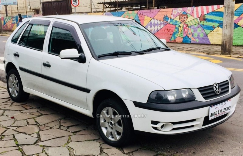 gol 1.6 mi power 8v gasolina 4p manual g.iii 2005 caxias do sul