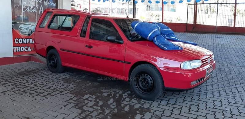 saveiro 1.8 mi cl cs 8v gasolina 2p manual g.ii 1998 caxias do sul