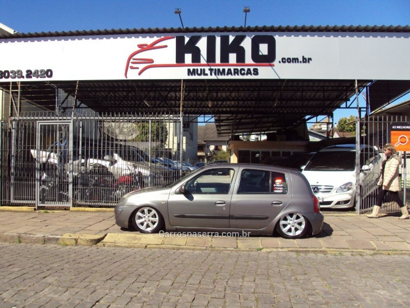 clio 1.6 privilege 16v flex 4p manual 2006 caxias do sul
