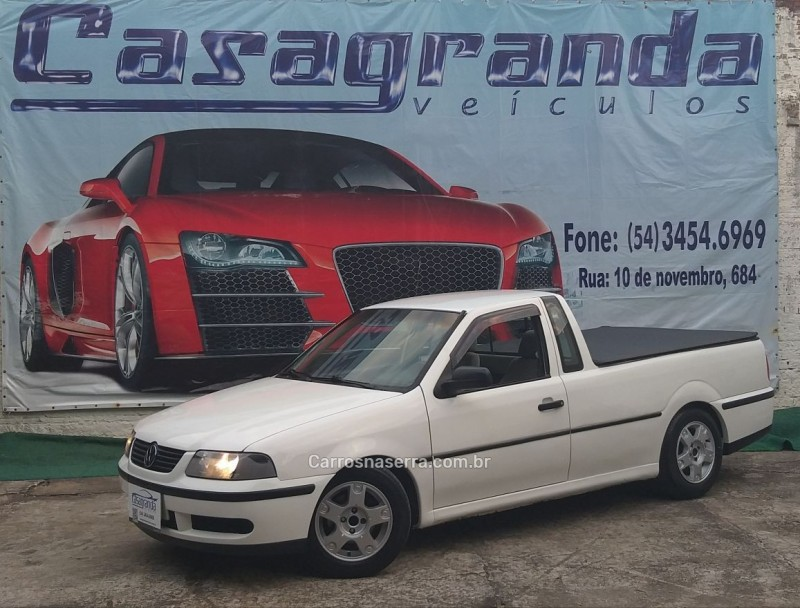 saveiro 2.0 mi cs 8v gasolina 2p manual g.iii 2000 bento goncalves
