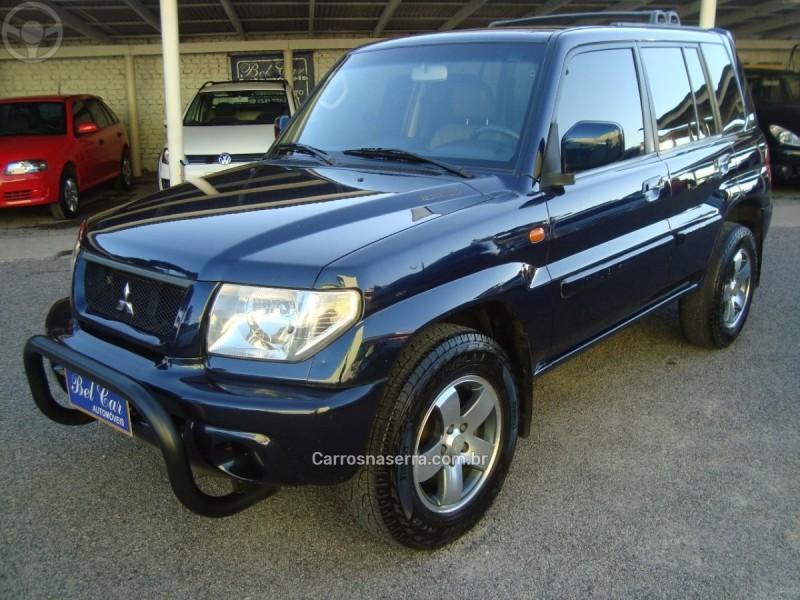 pajero tr4 2.0 4x4 16v 131cv gasolina 4p manual 2004 caxias do sul