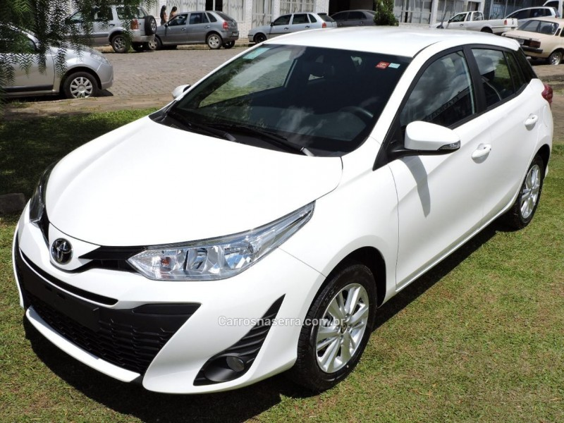 yaris 1.3 16v flex xl plus tech multidrive17 2019 sao marcos