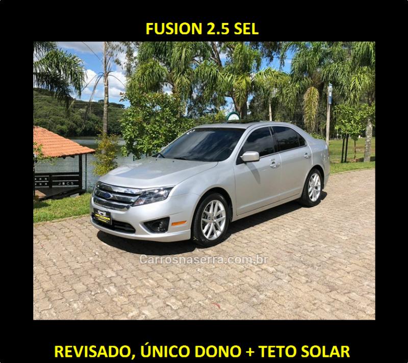 fusion 2.5 sel 16v gasolina 4p automatico 2012 caxias do sul