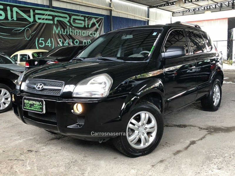 tucson 2.0 mpfi gl 16v 142cv 2wd gasolina 4p manual 2008 caxias do sul