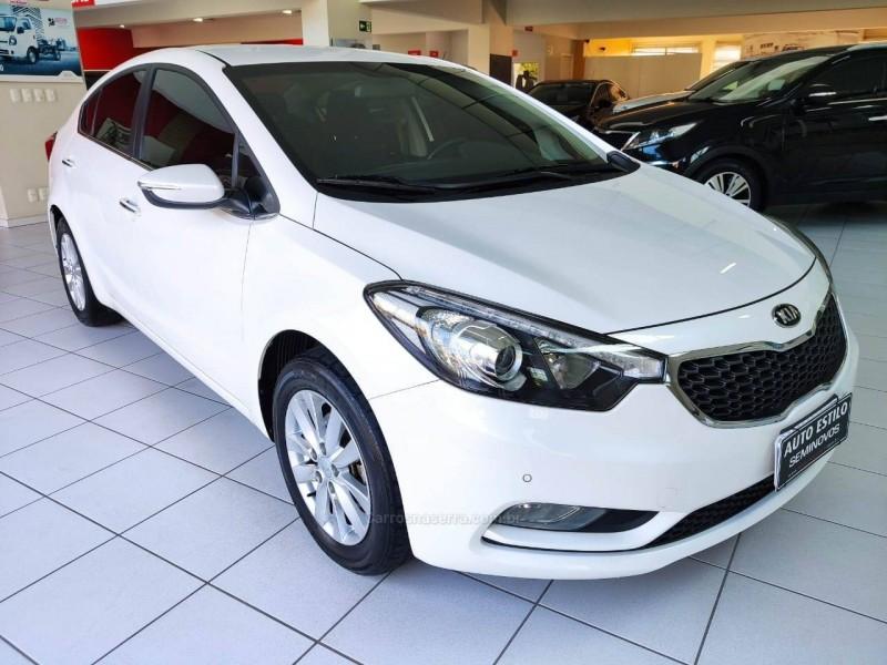 cerato 1.6 ex sedan 16v gasolina 4p automatico 2015 caxias do sul