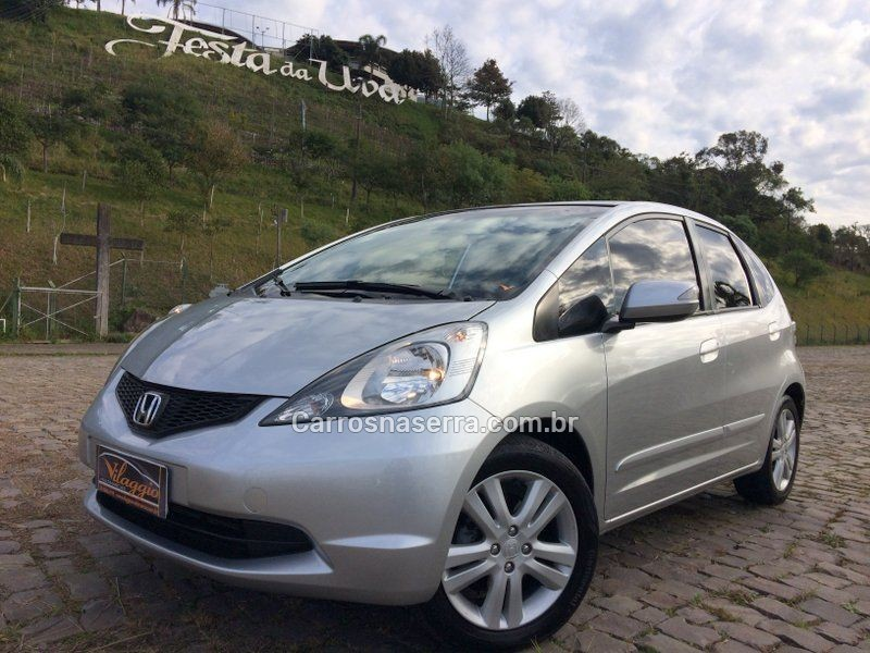 fit 1.5 ex 16v gasolina 4p automatico 2009 caxias do sul