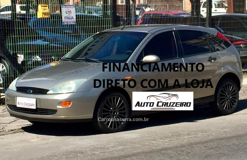 focus 1.8 glx 16v gasolina 4p manual 2003 caxias do sul