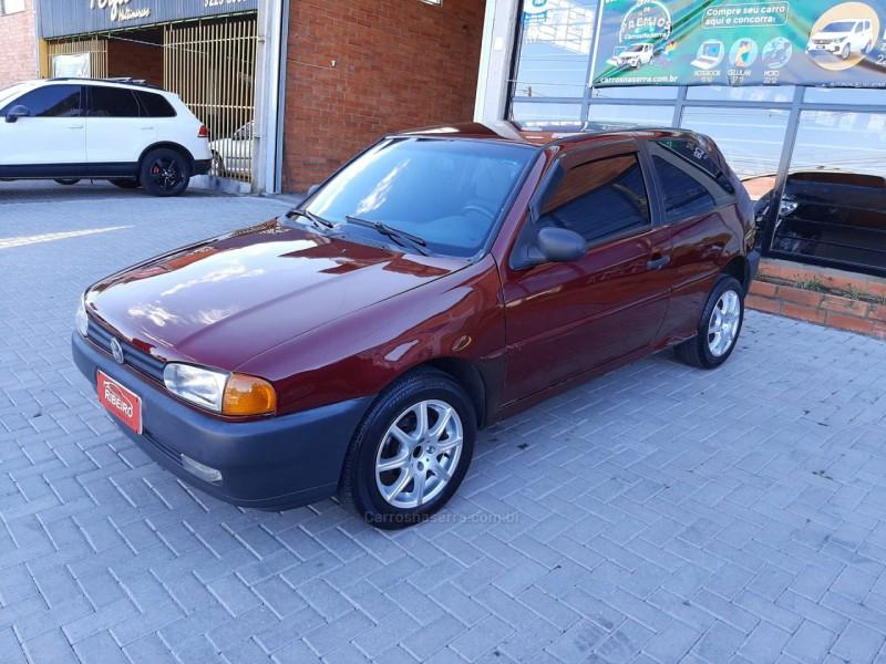 gol 1.0 1000 gasolina 2p manual 1996 caxias do sul