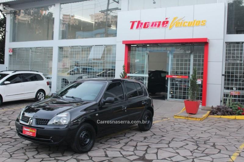 clio 1.6 authentique 16v gasolina 4p manual 2005 caxias do sul