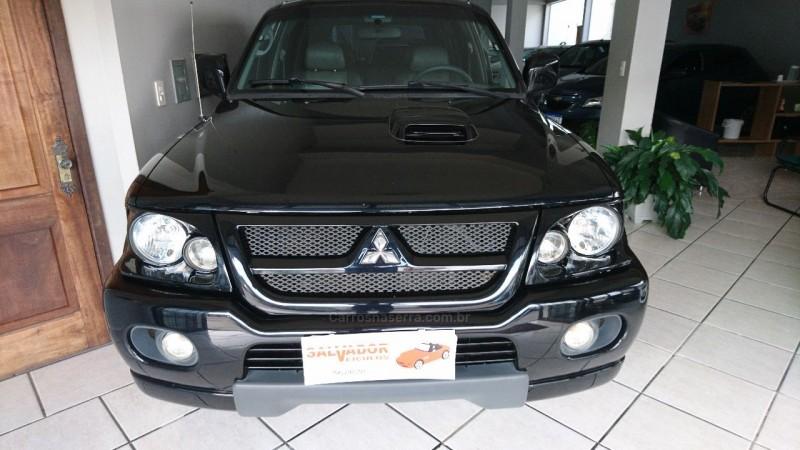 pajero sport 2.8 hpe 4x4 8v turbo intercooler diesel 4p automatico 2005 flores da cunha