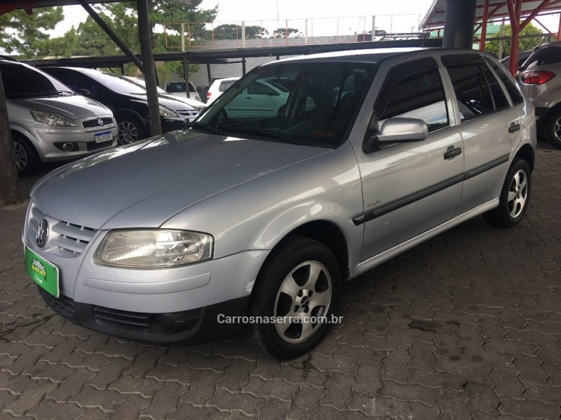 gol 1.6 mi power 8v flex 4p manual g.iv 2006 caxias do sul