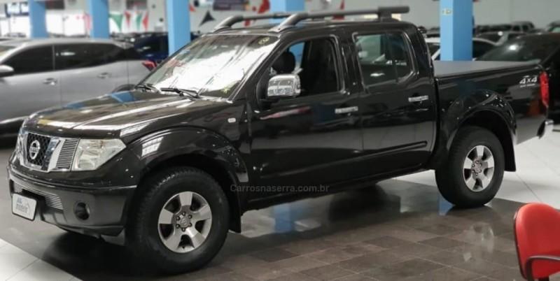 frontier 2.5 le 4x4 cd turbo eletronic diesel 4p automatico 2013 bento goncalves