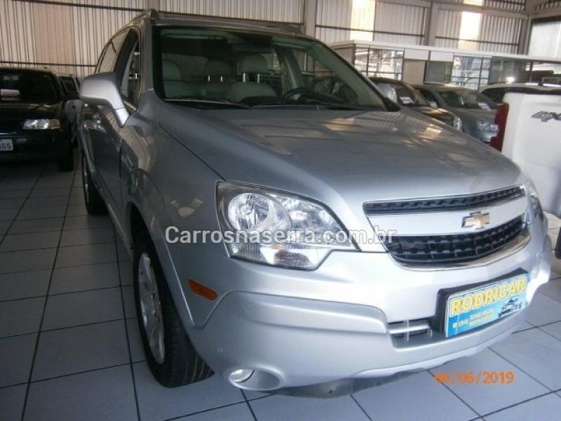 captiva 2.4 sfi ecotec fwd 16v gasolina 4p automatico 2009 nova prata