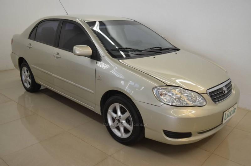 corolla 1.8 xei 16v gasolina 4p manual 2004 casca