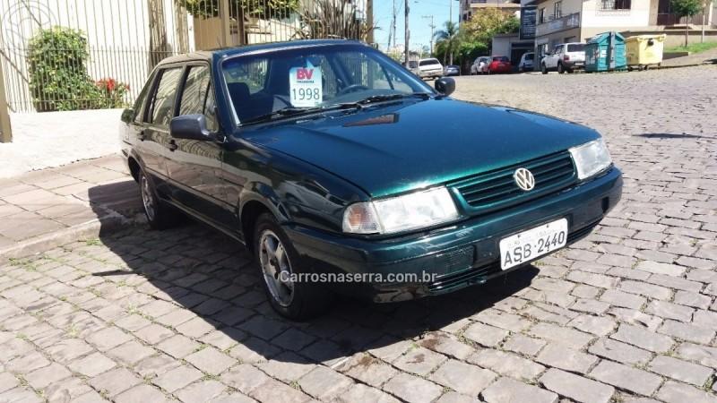 santana 1.8 mi 8v gasolina 4p manual 1998 caxias do sul