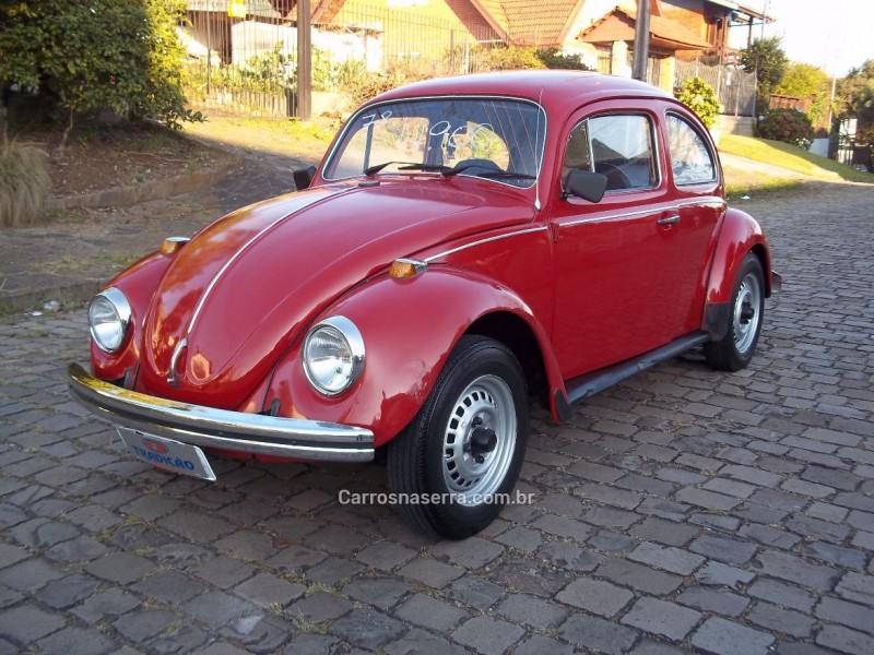fusca 1.3 8v gasolina 2p manual 1978 caxias do sul