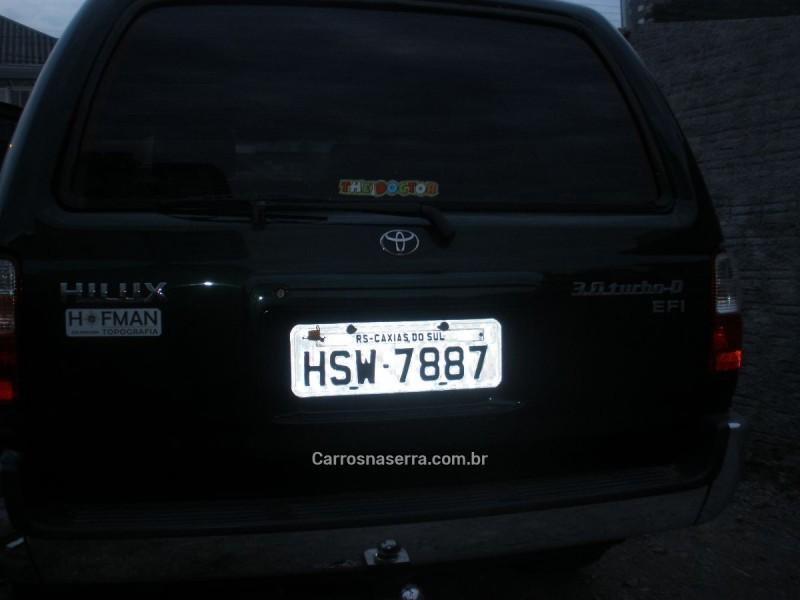 HILUX SW4 3.0 SRV 4X4 16V TURBO INTERCOOLER DIESEL 4P MANUAL - 2002 - CAXIAS DO SUL