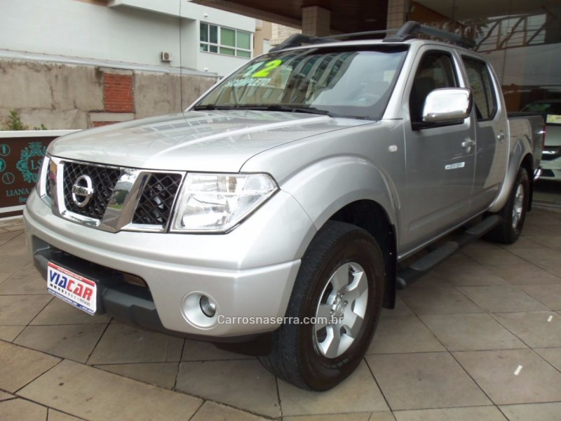 frontier 2.5 le 4x4 cd turbo eletronic diesel 4p manual 2012 bento goncalves