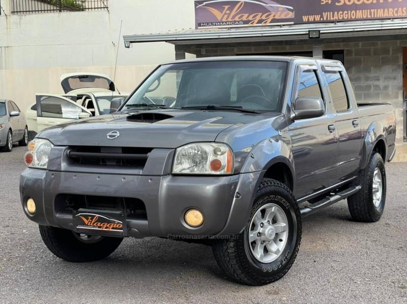 frontier 2.8 se 4x4 cd turbo diesel 4p manual 2003 caxias do sul
