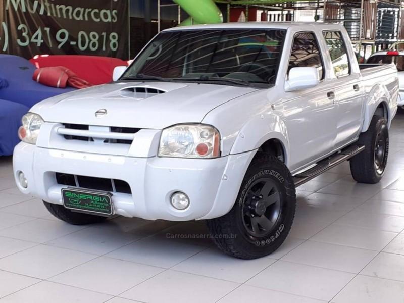 frontier 2.8 xe 4x2 cd turbo eletronic diesel 4p manual 2003 caxias do sul