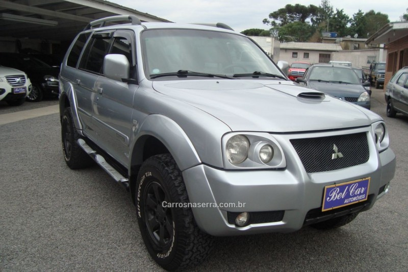 pajero sport 2.5 hpe 4x4 8v turbo intercooler diesel 4p manual 2008 caxias do sul