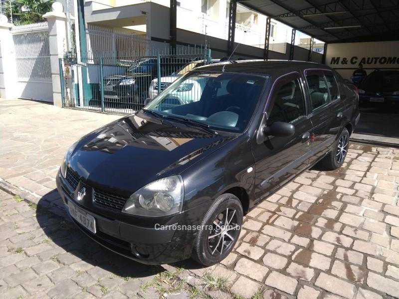 clio 1.0 authentique sedan 16v gasolina 4p manual 2005 caxias do sul