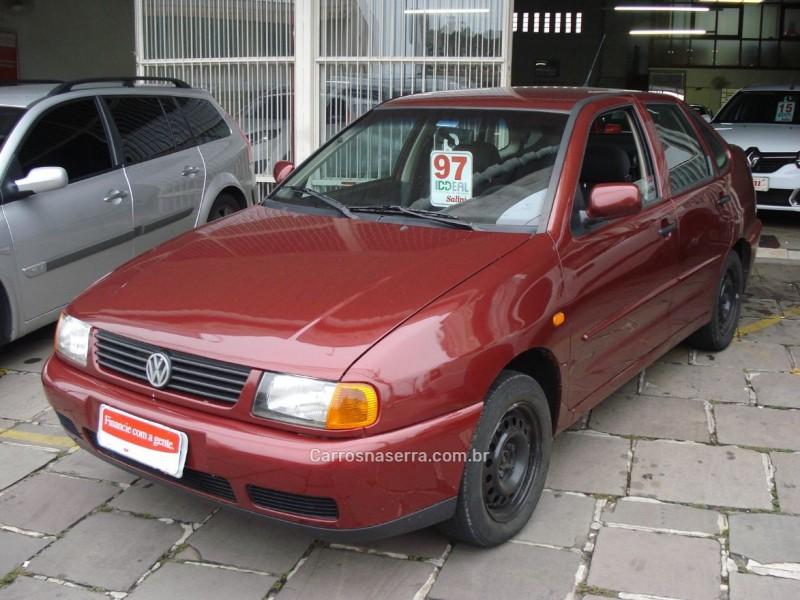 polo 1.8 mi classic sedan 8v gasolina 4p manual 1997 bento goncalves