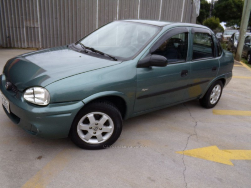 corsa 1.0 mpfi super 8v gasolina 4p manual 1999 caxias do sul