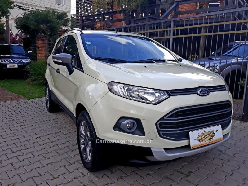 ecosport 1.6 xls freestyle 8v flex 4p manual 2015 caxias do sul