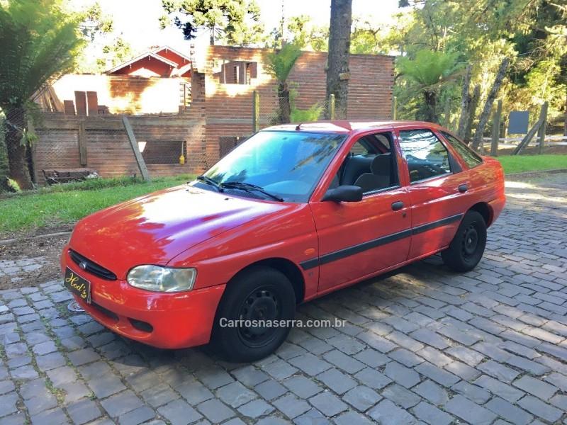 escort 1.8 i gl 16v gasolina 4p manual 1998 canela