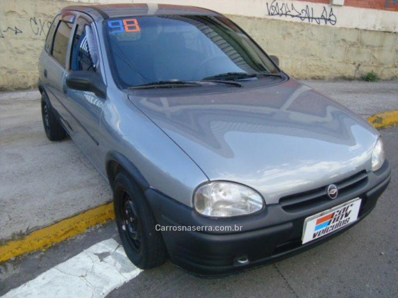 corsa 1.0 mpfi super 8v gasolina 4p manual 1998 caxias do sul