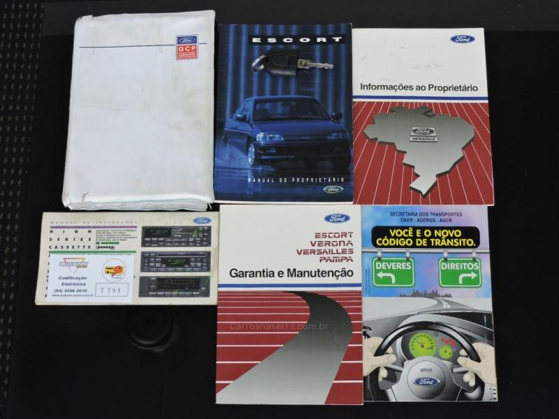 ESCORT 2.0 I XR3 CONVERSÍVEL 8V GASOLINA 2P MANUAL - 1994 - SãO MARCOS