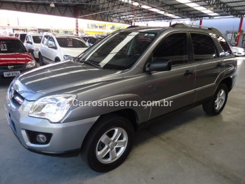 sportage 2.0 lx 4x2 16v gasolina 4p manual 2009 caxias do sul