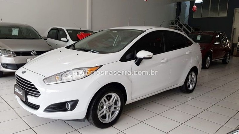 fiesta 1.6 sel sedan 16v flex 4p manual 2017 dois irmaos