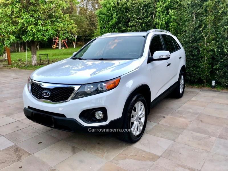 sorento 2.4 ex 4x2 16v gasolina 4p automatico 2011 caxias do sul