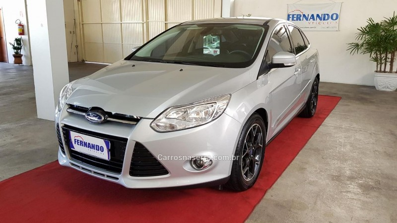 FOCUS 2.0 TITANIUM SEDAN 16V FLEX 4P POWERSHIFT - 2015 - BENTO GONçALVES