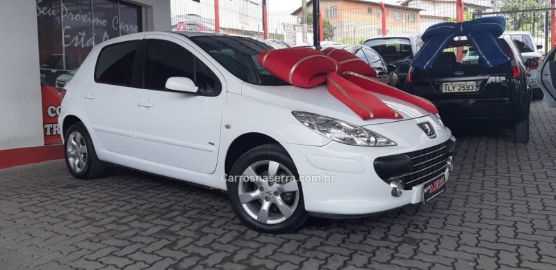 307 1.6 presence pack 16v gasolina 4p manual 2011 caxias do sul
