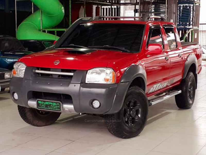 frontier 2.5 se 4x4 cd turbo eletronic diesel 4p manual 2003