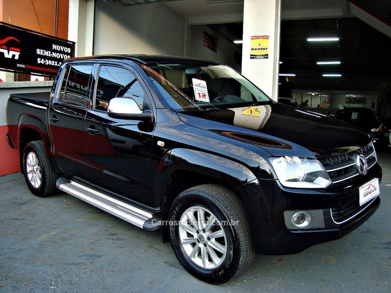 amarok 2.0 se 4x4 cd 16v turbo intercooler diesel 4p manual 2012 caxias do sul