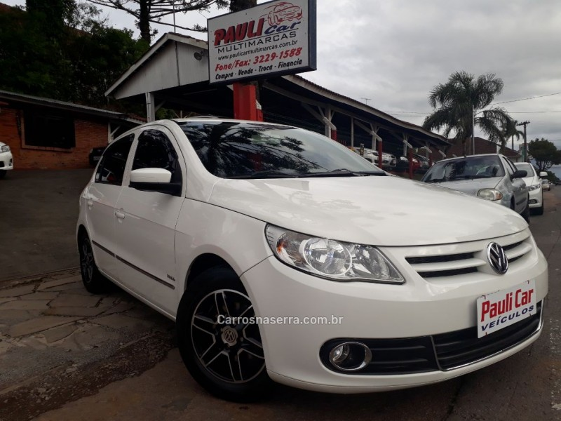 gol 1.6 mi power 8v flex 4p manual g.v 2011 caxias do sul