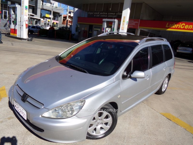 307 2.0 sw 16v gasolina 4p manual 2005 caxias do sul