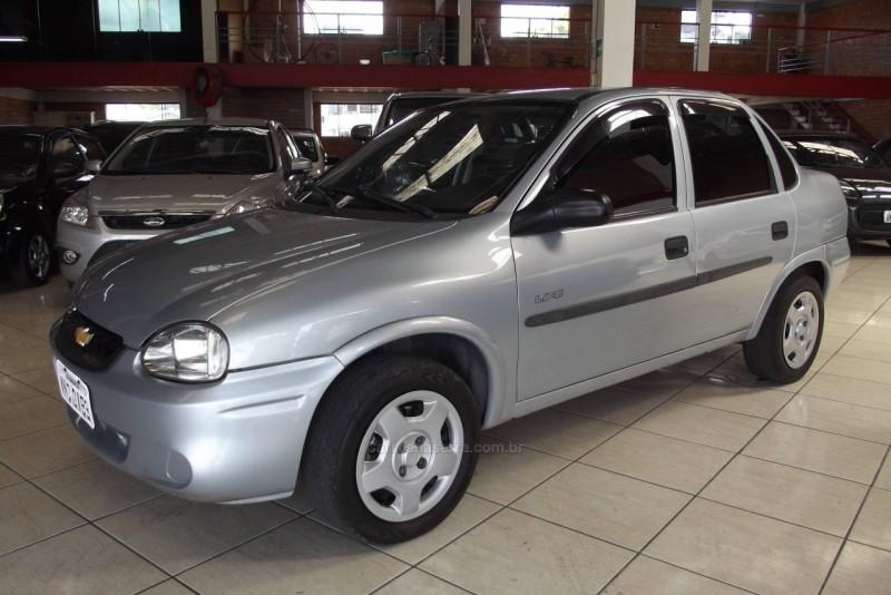 corsa 1.0 mpfi classic sedan life 8v flex 4p manual 2007 farroupilha
