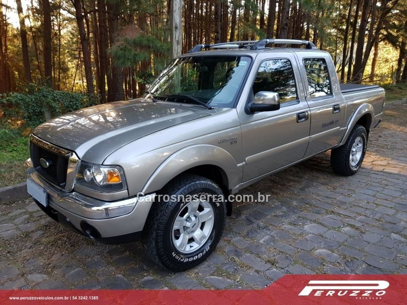 ranger 3.0 xlt 4x4 cd 16v turbo eletronic diesel 4p manual 2007 nova prata