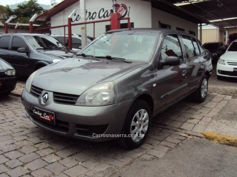 clio 1.0 authentique sedan 16v flex 4p manual 2006 caxias do sul