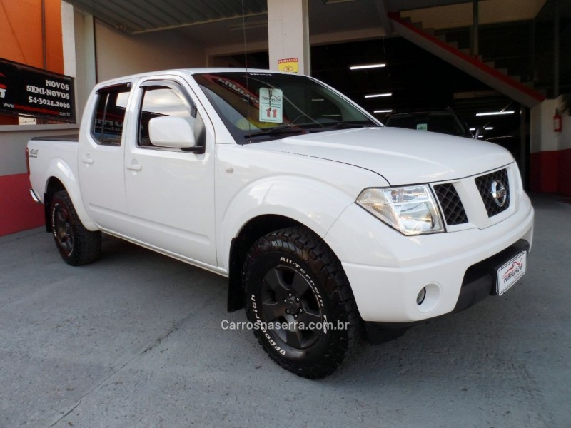 frontier 2.5 se 4x4 cd turbo eletronic diesel 4p manual 2011 caxias do sul
