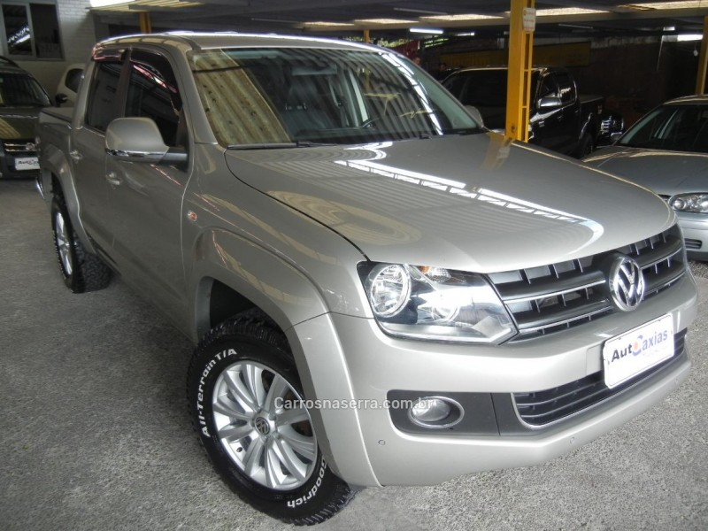 amarok 2.0 highline 4x4 cd 16v turbo intercooler diesel 4p automatico 2014 caxias do sul