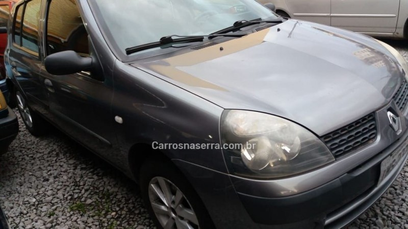 clio 1.0 authentique 16v gasolina 4p manual 2006 caxias do sul