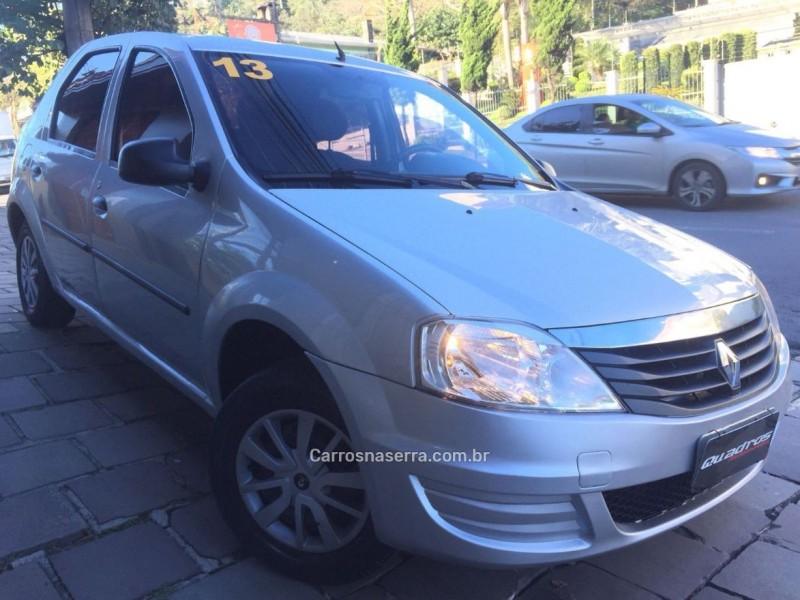 logan 1.0 authentique plus 16v flex 4p manual 2013 caxias do sul