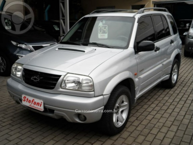 tracker 2.0 4x4 8v turbo intercooler diesel 4p manual 2004 feliz