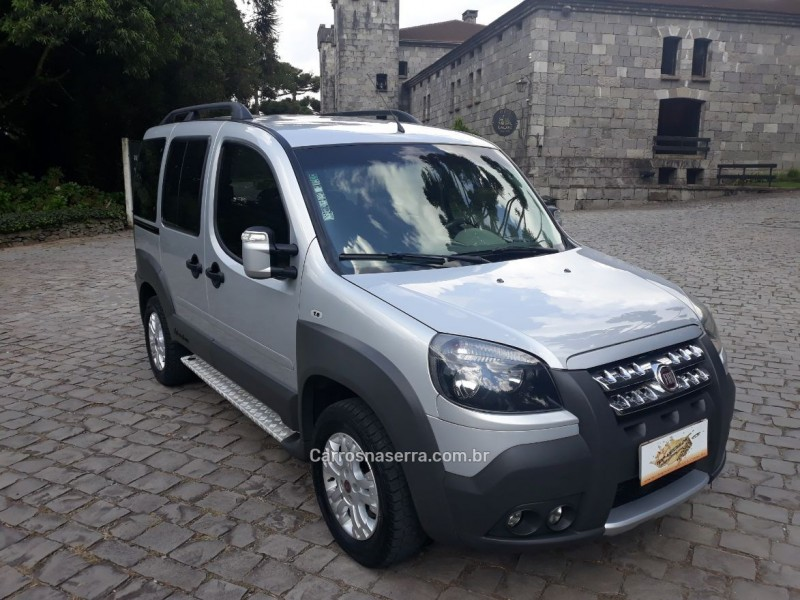 doblo 1.8 mpi adventure xingu 16v flex 4p manual 2013 caxias do sul